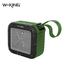 W-king Speakers Mini Portable Outdoor Bluetooth Speaker Shower Bluetooth 4.1 Speaker NFC Water Resistant Wireless Speakers 5W