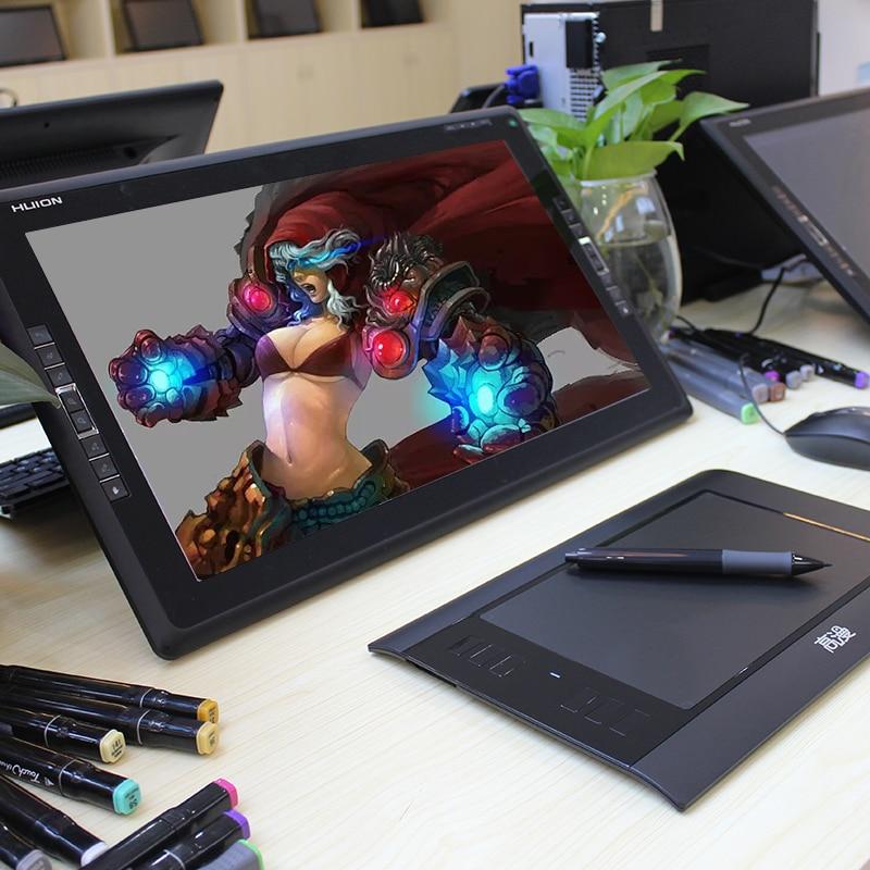 Promocja Czarny 8x5 calowy Tablet cyfrowy GAOMON 860T Artysta Tablet - Peryferia komputerowe - Zdjęcie 5