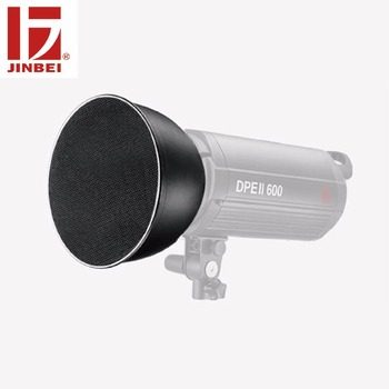 """JINBEI 20cm 8"""" Standard Reflector with S&M Honey Combs Kit Bowens Mount Photography Accessories for Flash Strobe Light"""