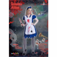 Halloween Alice Zombie Cosplay Suit