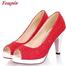 2015 spring and autumn new elegant South Korean fish mouth shallow High Heels Sandals sexy comfort women's sandals