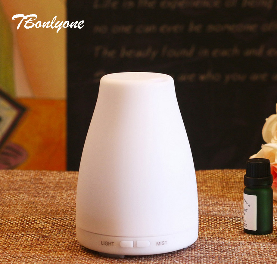 TBonlyone 100ML Timer Colorful Ultrasonic Aroma Diffuser Aromatherapy Air Humidifier Essential Oil Diffuser Foger Aroma Diffuser hot sale humidifier aromatherapy essential oil 100 240v 100ml water capacity 20 30 square meters ultrasonic 12w 13 13 9 5cm