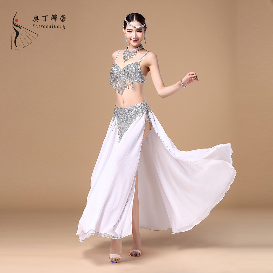 Bra Belt Shirt & Necklace Sets High-end Egypt Belly Dance Costume Belly Costume for Women Belly Dance Costumes Dance Skirt Cloth