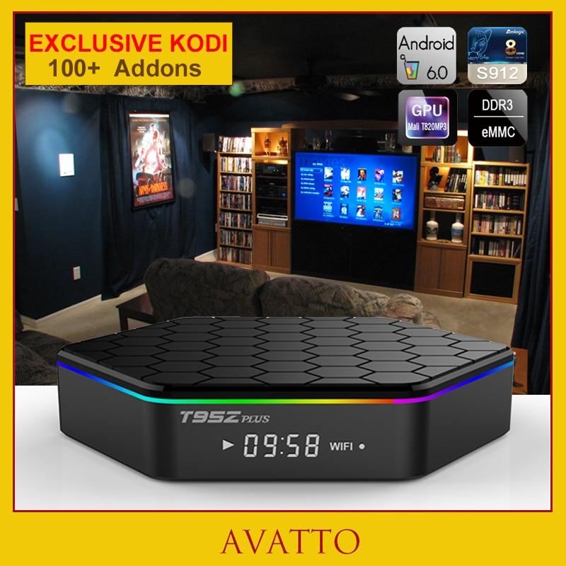 [Avatto] t95z plus 2 gb/16 gb amlogic s912 android 6.0 smart tv box octa-core, 5