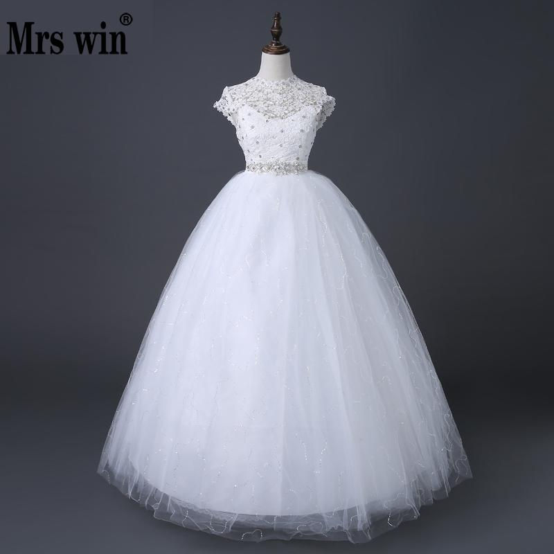 New High Waist Wedding Dresses For Pregnant Large Size Korean Style Bride Princess Wedding Gowns NW005