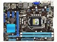 original motherboard for ASUS H61M K LGA 1155 DDR3 16GB USB2.0 SATA II H61 Desktop motherboard