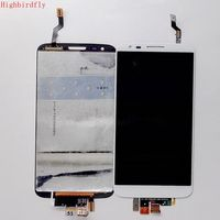 Highbirdfly For Lg G2 D802 D805 Lcd Display WIth Touch Screen Diggitizer Frame Together Full Lcds