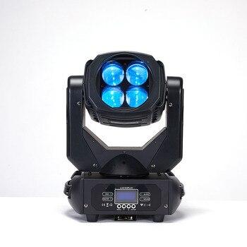 YA Yao LED 4x25W 슈퍼 빔 이동 헤드 LED 빔 빛 완벽 한 효과 빛 DJ 디스코 파티 클럽 조명 이동 헤드 라이트