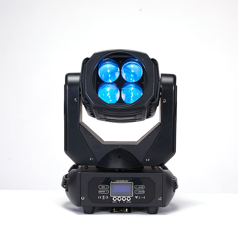 YA Yao LED 4x25W Super Beam Moving Head LED Beam Light Perfect Effect Light For DJ Disco Party Clubs Lighting Moving Head Light