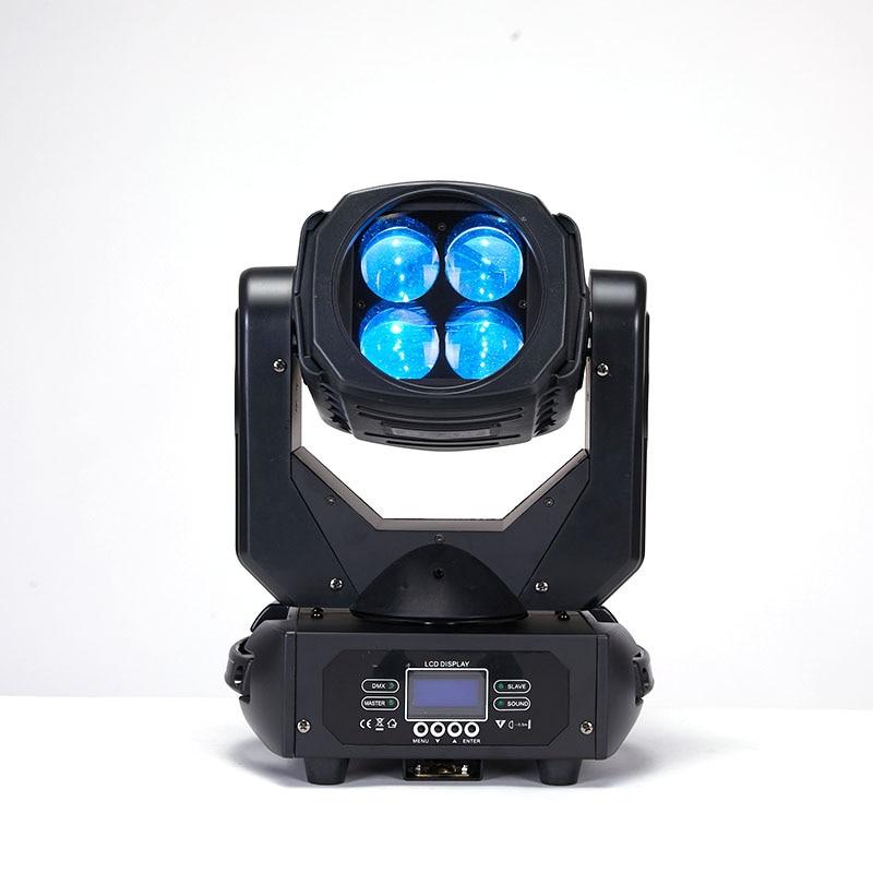 YA Yao LED 4x25W Super Beam Moving Head LED Beam Light Perfect Effect Light For DJ Disco Party Clubs Lighting Moving Head Light