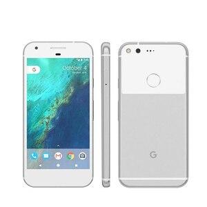 Мобильный телефон Google Pixel XL, 4G LTE, 4 Гб ОЗУ, 32 ГБ/128 Гб ПЗУ, 5,5 дюймов, четырехъядерный процессор Snapdragon, сканер отпечатков пальцев, Android, смартфон, ...