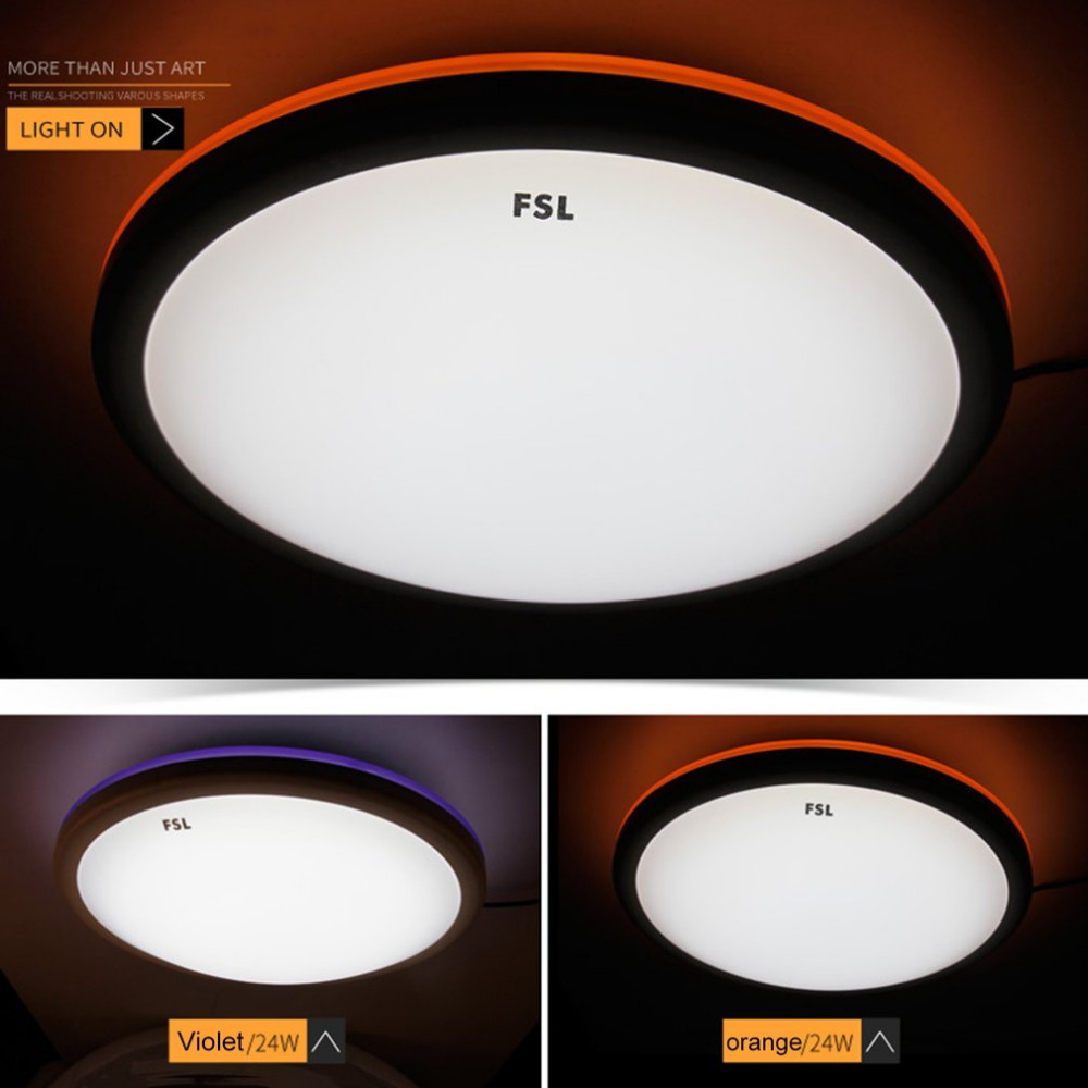 Wohnzimmer Lampe Real Waineg Moderne Luxus Atmosphare Runde Led