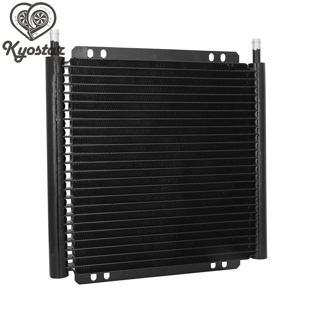 Oil Cooler Radiator 25Row Engine Oil Cooler Kit Car Accessories 8000 Type Plate & Fin Aluminum Engine Oil Cooler Transmission radiator