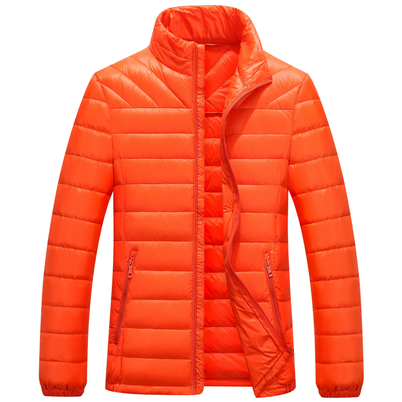 Casual Ultralight Mens 90% white Duck Down Jackets Autumn & Winter Jacket Men Lightweight Duck Down Jacket Men Overcoats