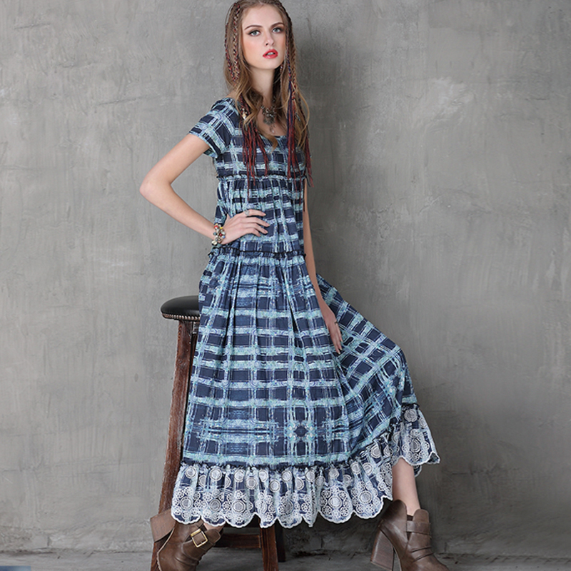 o o maxi dress and denim