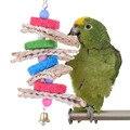 Bird Cage Toys Bird Toy Chew  Loofah Straw Toys Decorative Bird Cages Parrot Toys Bird Parrot Newest 2017