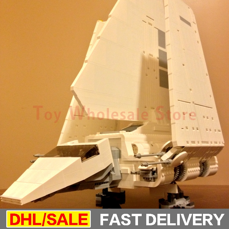 LEPIN 05034 Star Wars Kits The Imperial Shuttle Building Blocks Bricks Set Assembled lepins Toys Clone 10212 2018 star space warseries shuttle tydirium building blocks bricks assembled toys compatible with lepins gifts