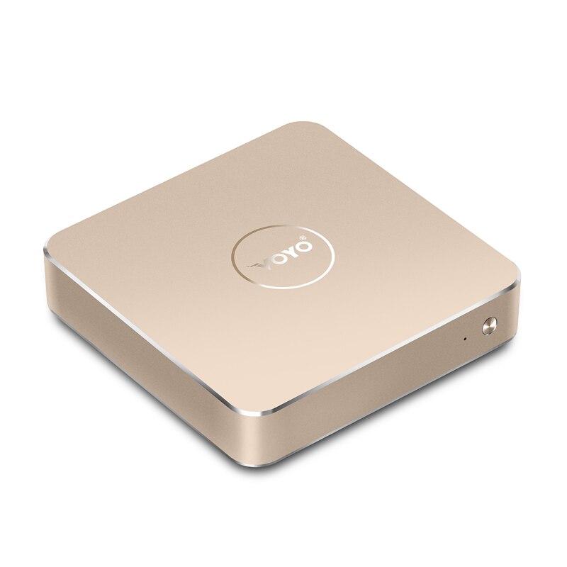 Имеются на складе! VOYO для Mac Mini PC Intel Apollo N4200 8G ram 120G SSD 4 K HD карманный ПК оригинальная Лицензия Windows 10 OS Бесплатная доставка