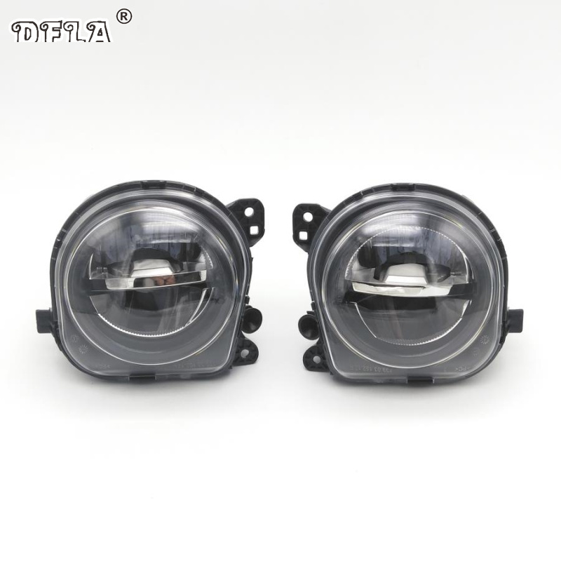 LED Car Light For BMW 5 Series F07 F10 F11 LCI 528i 535i 550i 2013 2014 2015 Car-styling Front Bumper LED Fog Light Fog Lamp 2pcs right left fog light lamp for b mw e39 5 series 528i 540i 535i 1997 2000 e36 z3 2001 63178360575 63178360576