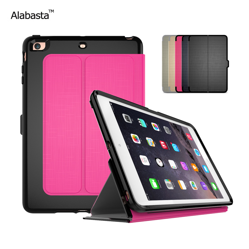 Alabasta Case For iPad Mini 4 High Quality Tice Feeling  Smart Cover Stand Casual & Business Style Case for ipad mini4 stylus