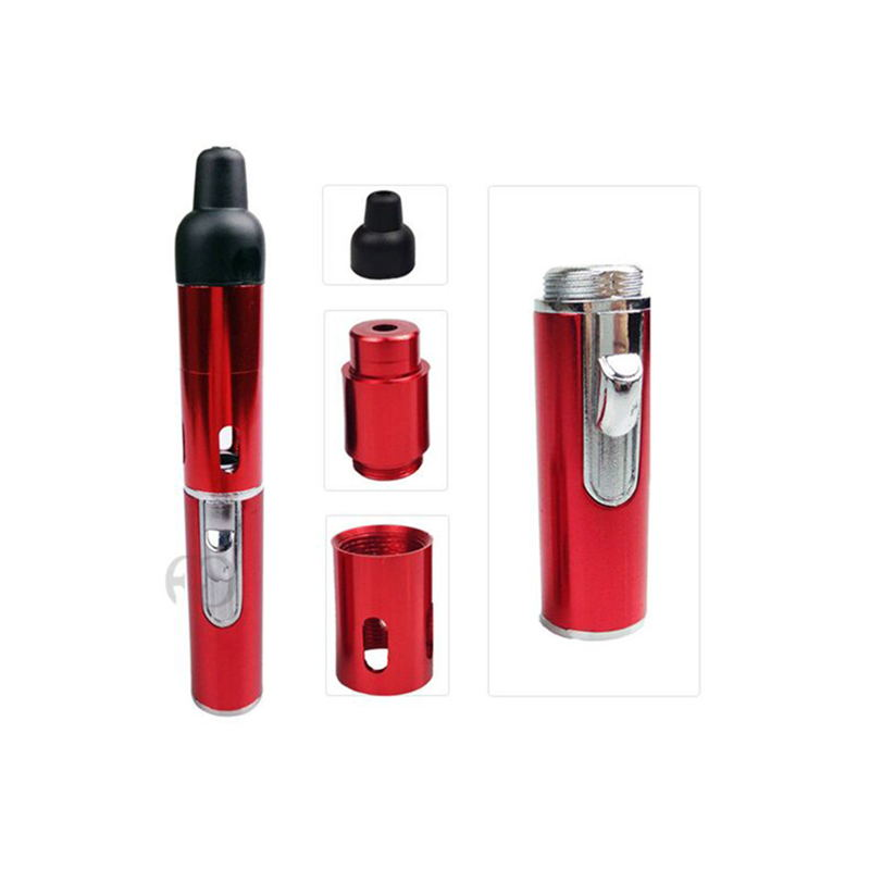 New-Arrival-Click-N-Vape-for-Dry-Herb-Vaporizer-Burner-Tobacco-Pipe-Carry-Self-Refillable-Butane (3)