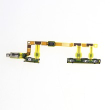 Original for Sony Xperia Z3 Compact mini M55W D5803 D5833 power on/off volume button switch with vibrator ribbon flex cable
