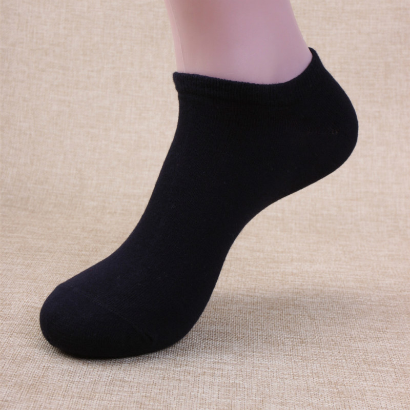 Men Socks Invisible Men Cotton Ankle Socks Mens Business Casual Solid Short Socks Male 10 Pairs/lot