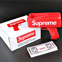 Funny Supreme Money Gun Decompression Pistol Toy Gun Plastic Airsoft Air Guns Kids Toys Gifts 3
