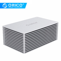 ORICO 2.5 3.5 inch DIY HDD Case SATA to USB 3.0 SSD Adapter High Speed Box Hard Drive Enclosure For Samsung Seagate SSD 20TB MAX