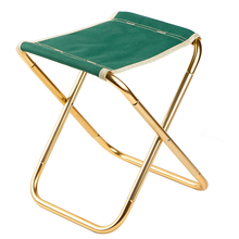7075 Al Portable Folding Chair Beach Seat Lightweight 280g Bear 100kg Fishing Outdoor Furniture Vocation Casual Camping Fishing