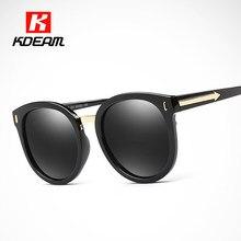 3bfa0d6a9d Arrow Arms Polarized Sunglasses Cat Eye Big Size Polaroid Glasses Women  UV-Proof Shades Crystal Frame HD Lens With Case CE
