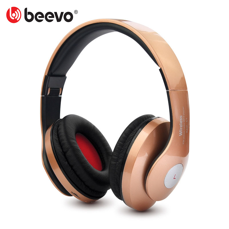 Adjustable Folding Wireless Bluetooth Headphones Support TF Card Earphone With Mic Stereo Sports Headset For Mobile Phone