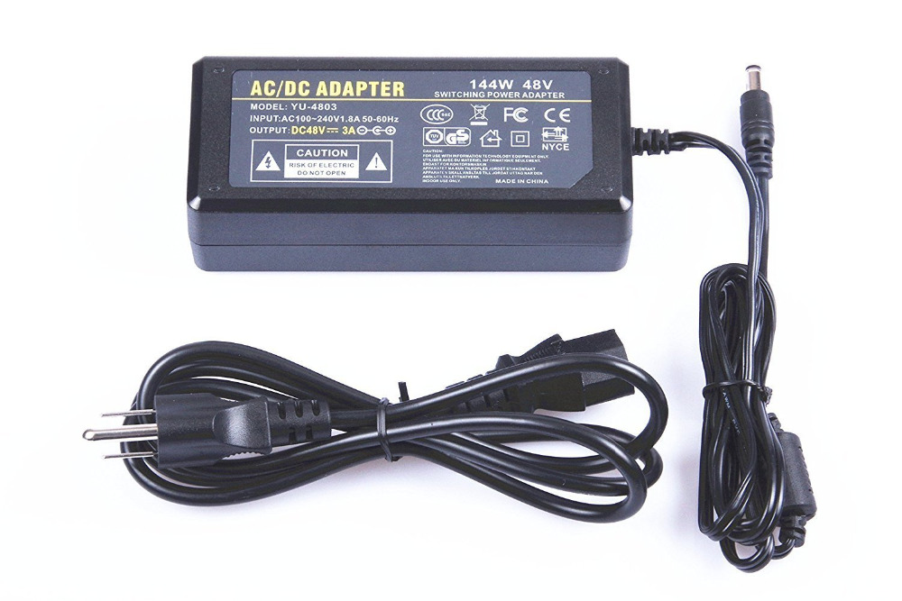 AC DC Power Supply 48V 3A 2A 1A Adapter Charger Transformer For LED Strip Light CCTV Camera With IC Chip 2