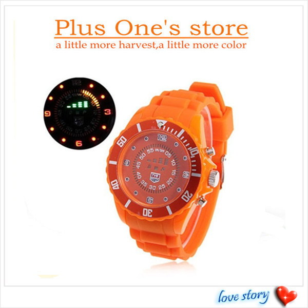 Children watch TVG Multi-Function Digital Display Time Colorful LED Watch