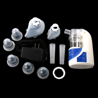 Portable Ultrasonic Inhaler Nebulizer Household Health Care Children Ultrasonic Personal Atomizer Machine With Cup Mouthpiece