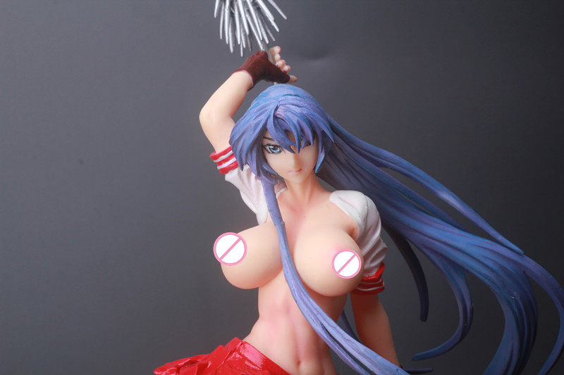 1/6 Japanese Anime Sex Naked Dolls Sexy Ikkitousen  Kanu Unchou  Figure Dolls Gk Action Figure