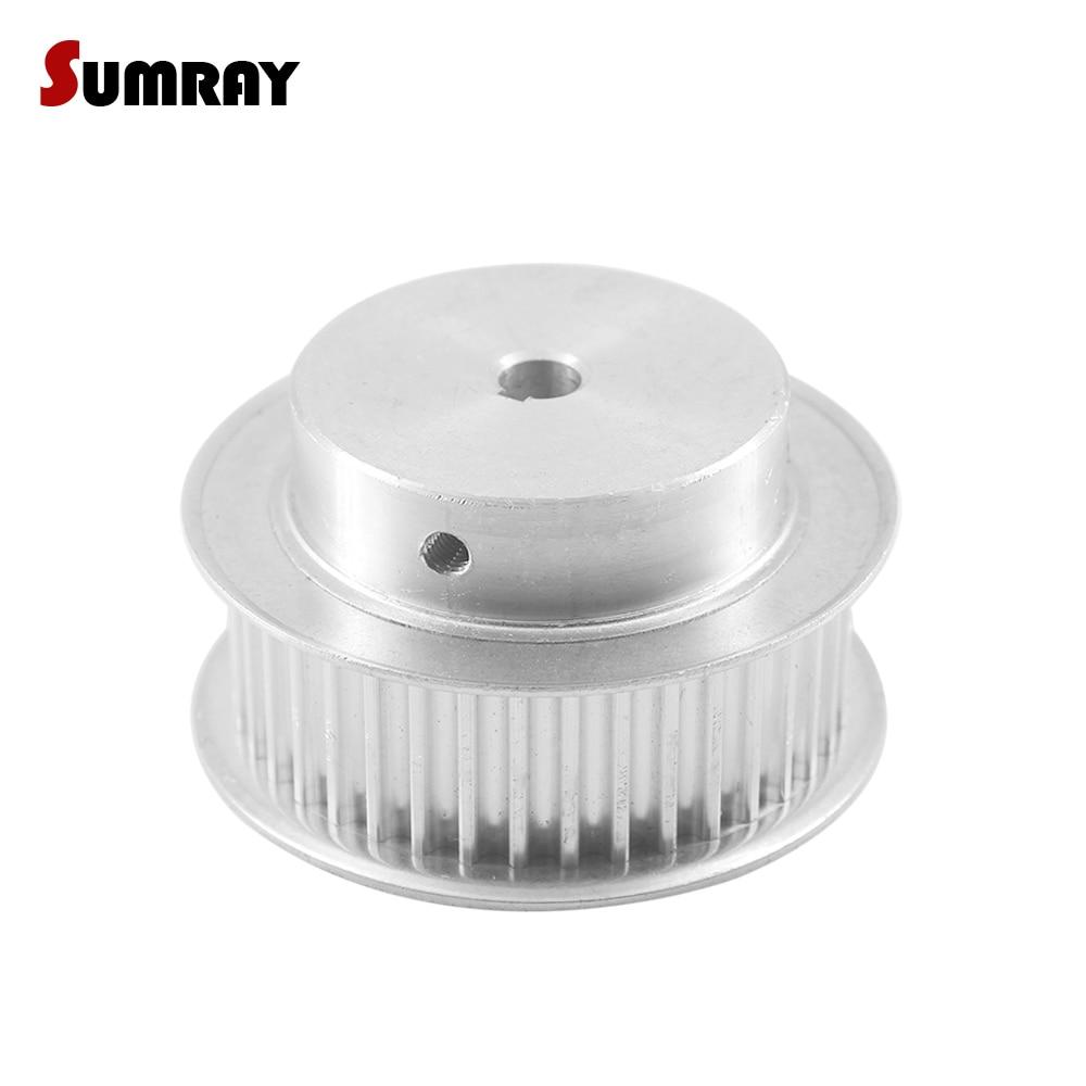 SUMRAY 5M 48T Keyway Timing Belt Pulley 12/14/15/17/19/20/22/24/25mm bore keyway diameter 4/5/6/8mm 16/21mm width Pulley Wheel SUMRAY 5M 48T Keyway Timing Belt Pulley 12/14/15/17/19/20/22/24/25mm bore keyway diameter 4/5/6/8mm 16/21mm width Pulley Wheel