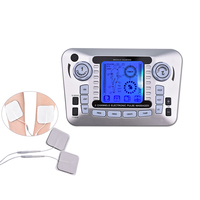 Dual Output Massage Electric Pulse Acupuncture Therapy Machine Body Massager Neck Back Foot Pain Relief Muscle