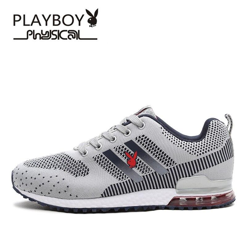 Playboy nuovi pattini correnti degli uomini scarpa unica lingua design traspirante  scarpe sportive uomo athletic outdoor scarpe da ginnastica zapatos de ... d936218cb89