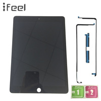 New 9.7 For Apple Ipad Air 2 ipad 6 A1567 A1566 Lcd Display With Touch Screen Digitizer Panel Assembly Complete with adhesive
