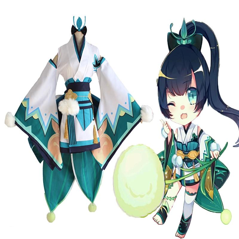 Hot Game Onmyoji Cosplay Costumes Hotaru Gusa Kimono Full Sets Cosplay Costumes Halloween Carnival Party Cosplay Costumes