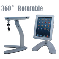 Metal Protable Security Display Stand For IPad 2 3 4 For Tablet Pc Holder Exhibiton With
