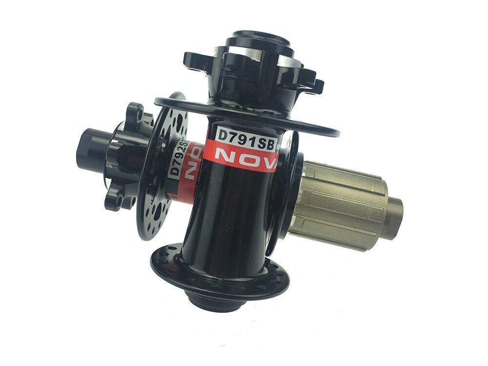Nouveauté essieu 15mm avant moyeu de vélo vtt 32/32 trous arrière 142mm * 12mm ou roue de VTT à dégagement rapide 10 paires