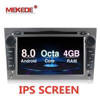 Mekede Octa core Car Electronics IPS screen DSP Android 8.0 car GPS DVD For Opel Zafira B Vectra Meriva Antara Astra Corsa