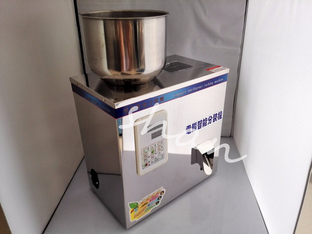 2-200g Dispensing Machine Tea Candy Hardware Nut Filling Machine 110V/220V automatic Powder and Granule Packing Filling Machine new 2 200g full automatic tea bag weighing filling packaging machine with back sealer