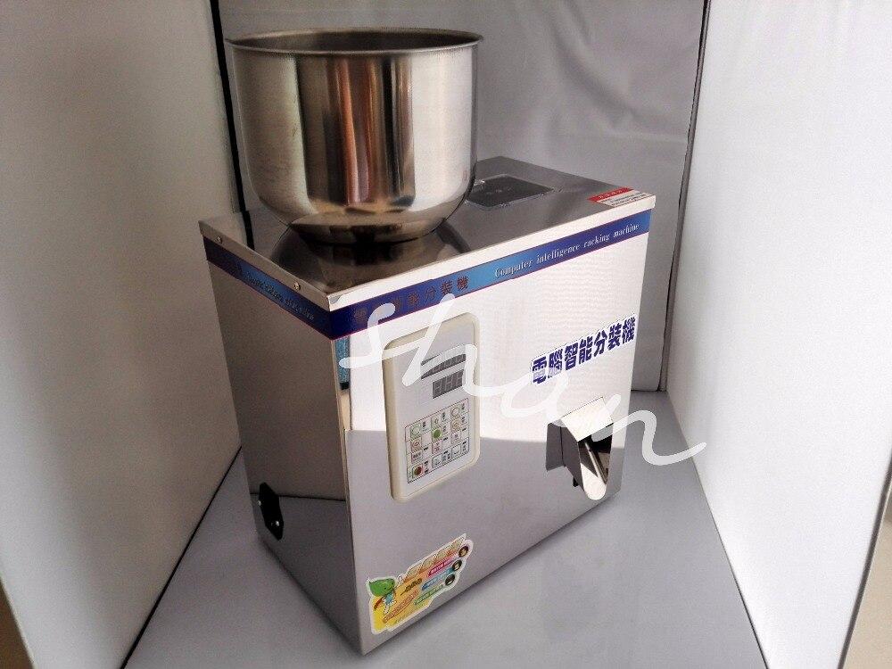 2-200g automatique Alimentaire pesant machine d'emballage poudre granulaire thé matériel matériaux de remplissage machine Double vibrateur version