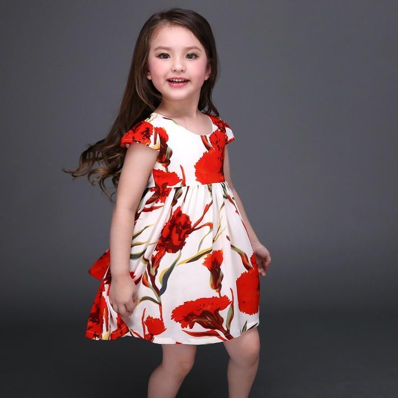 0860ca3f5 Summer Girls Dress Flower Girl Gown For Teenagers Flower Children ...