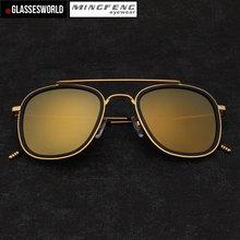 Fashion aviator sunglasses of unisex M2032