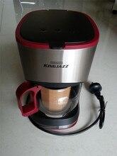 Kg01-11, бесплатная доставка, американская семья полностью автоматическая кофемашина капельного, чай машина, чашка полуавтоматическая кофемашина