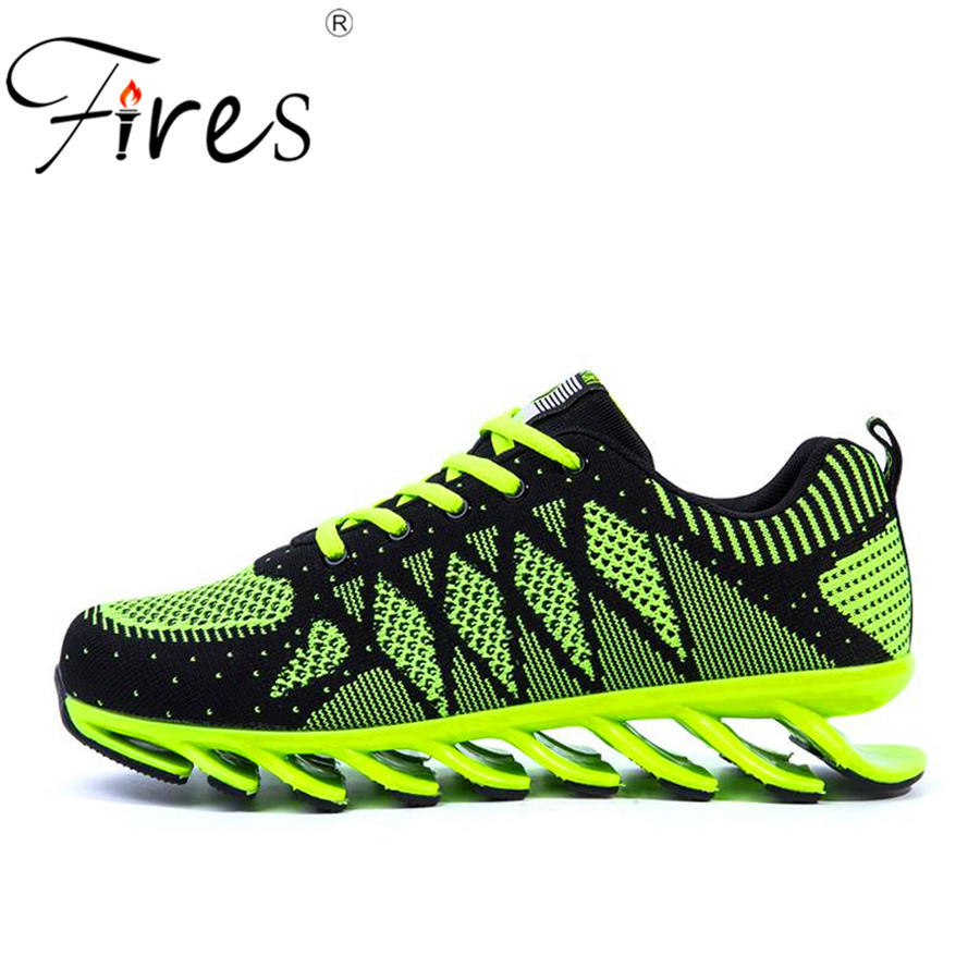 Fires 2017 Outdoor Running Shoes For Men Sneakers Shoes Damping Summer Country Trail Sport Shoes Zapatos  Run shoes spring  2017 fires men s sport running shoes breathable men sneakers wholesale outdoor sport runner shoes spor ayakkabi anti slip